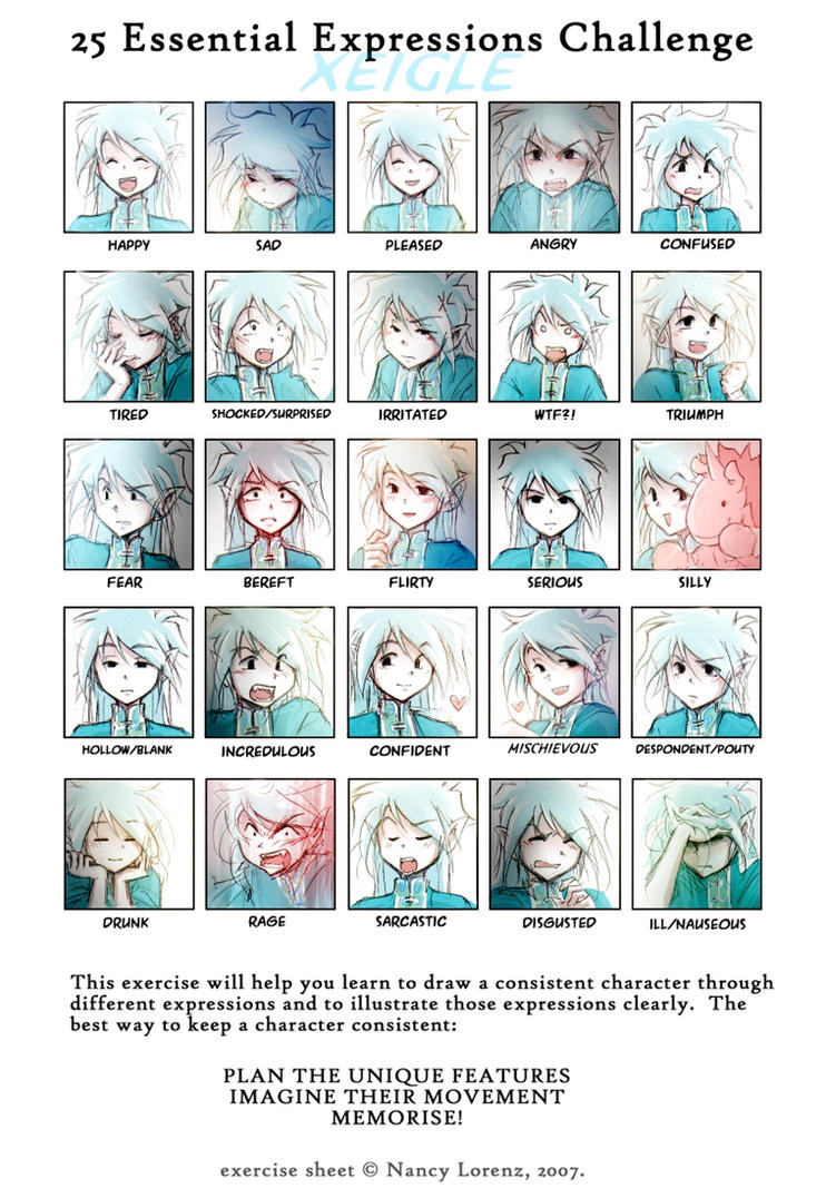 25 Essential Expressions: Xei by Achiru-et-al