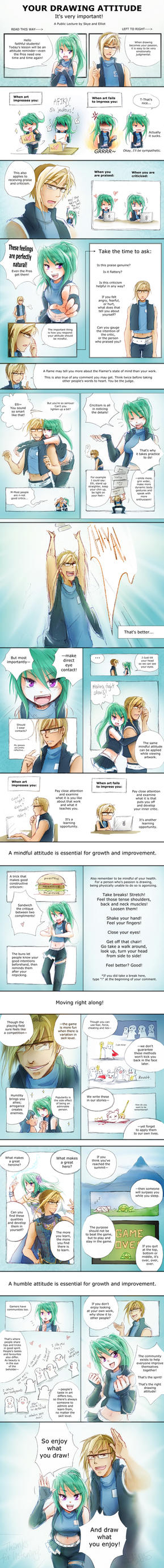 Your Drawing Attitude by Achiru-et-al