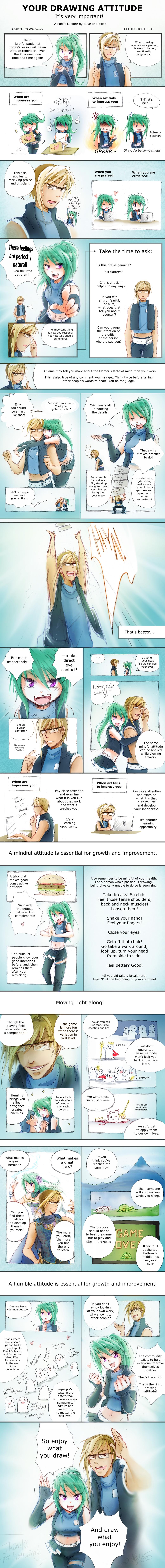 Your Drawing Attitude by Achiru-et-al
