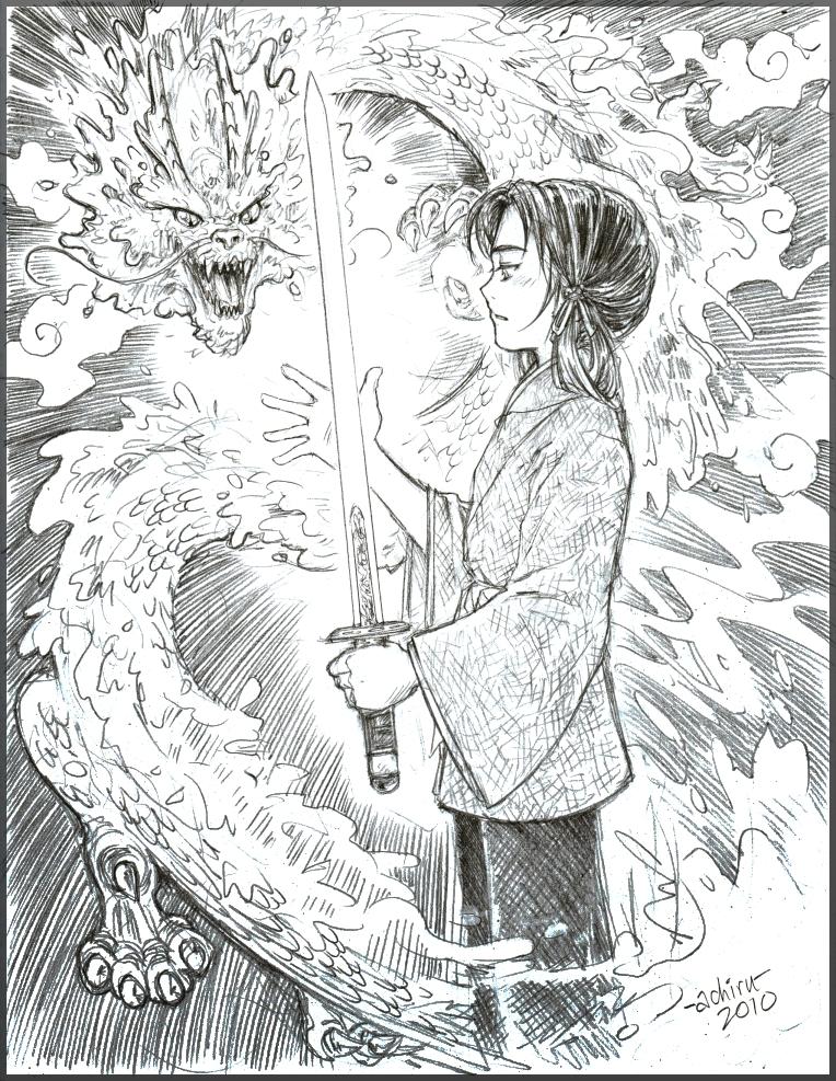 The Dragon Sword by Achiru-et-al