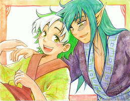 Kaenen and Cedric
