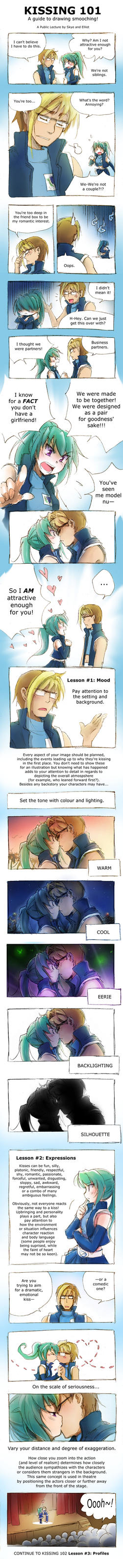 Kissing 101 by Achiru-et-al