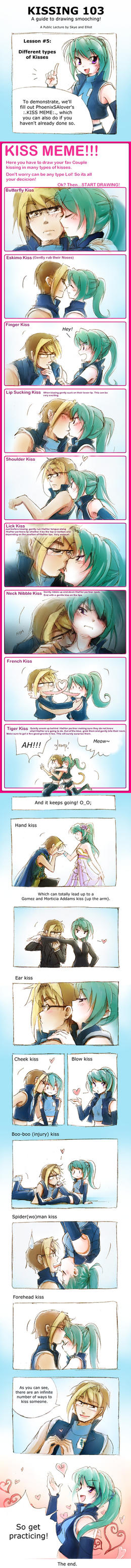 Kissing 103 by Achiru-et-al
