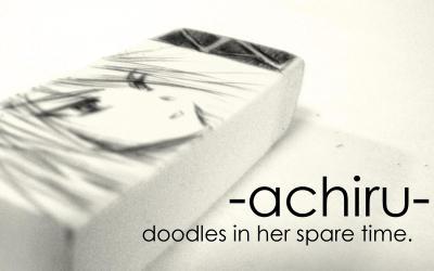 the achiru doodles...
