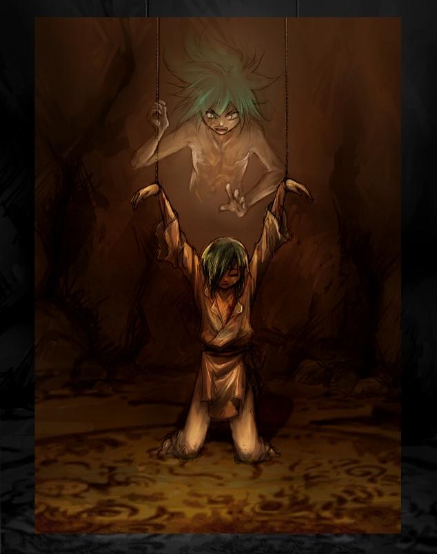 I am your shadow. by Achiru-et-al