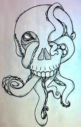 Octopus in Skull