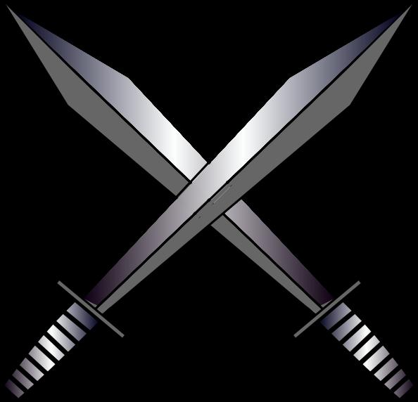 Real Crossed Swords Crossed Sword Cutie Mark by