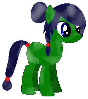 Leaf Meadow's Crystal pony design by LR-Studios