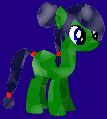 Leaf Meadow's Crystal pony design by LR-Studios