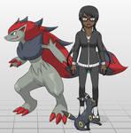 Pokemon Trainer: Sabrina (Lilith) Phoenix