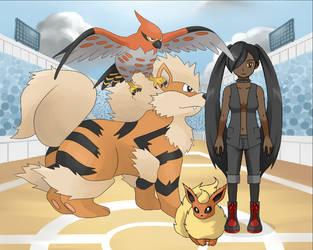 Pokemon Trainer: Coco Delaney by LR-Studios