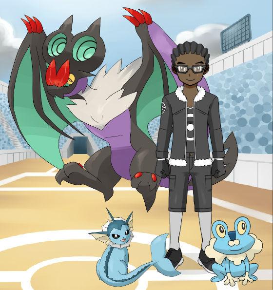 Pokemon Trainer: Antaine R. Haynes
