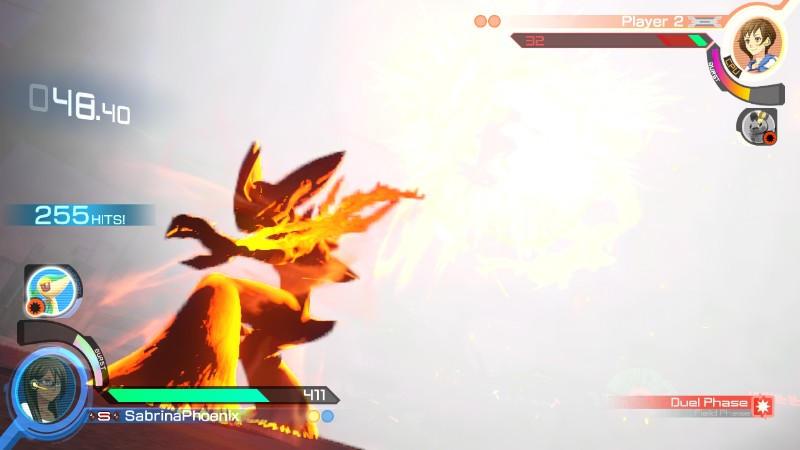 A firey finish