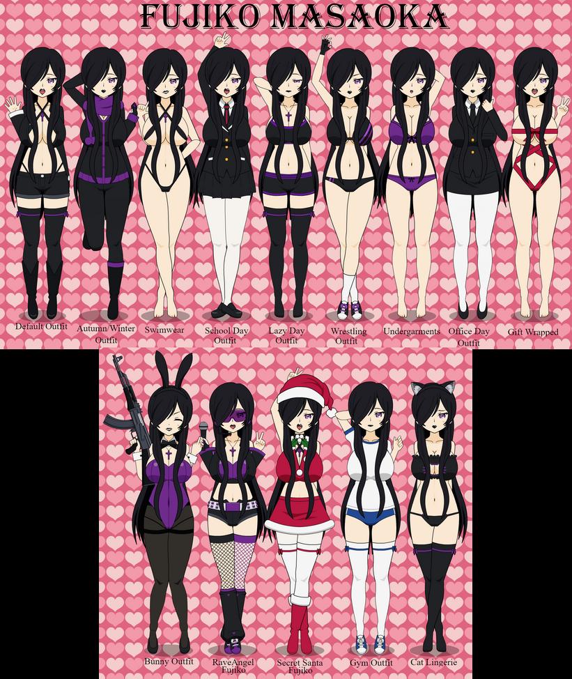 Anime OC: Fujiko Masaoka by LR-Studios