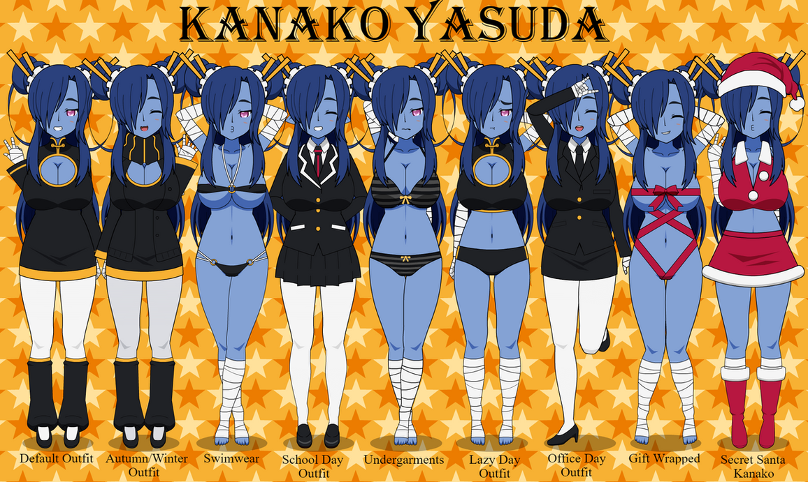 Anime OC: Kanako Yasuda by LR-Studios