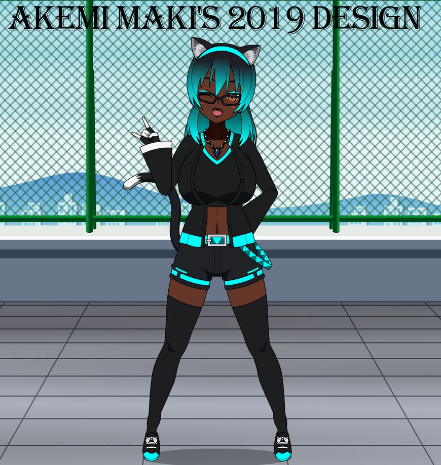 Akemi's New Design for 2019 by LR-Studios