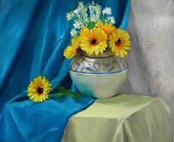 Sunflowers by hplanii