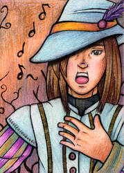 Art Card 6 : Diodao the Bard by master-penguin
