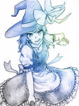 Anime Witch by Maxywanders