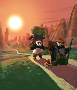 Family (Kung Fu Panda 3 fan-art)