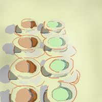 Cream Soups Study by Rusty99Arabian