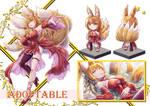 (OPEN) ADOPTABLE Foxy by Greyros