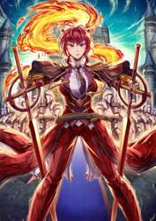 Scarlet Swordman 2 by Greyros