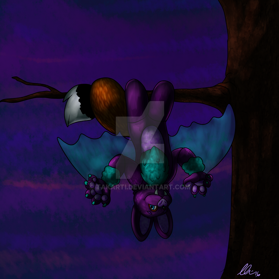 HND Artist Book - Character Development - Bat by Takarti