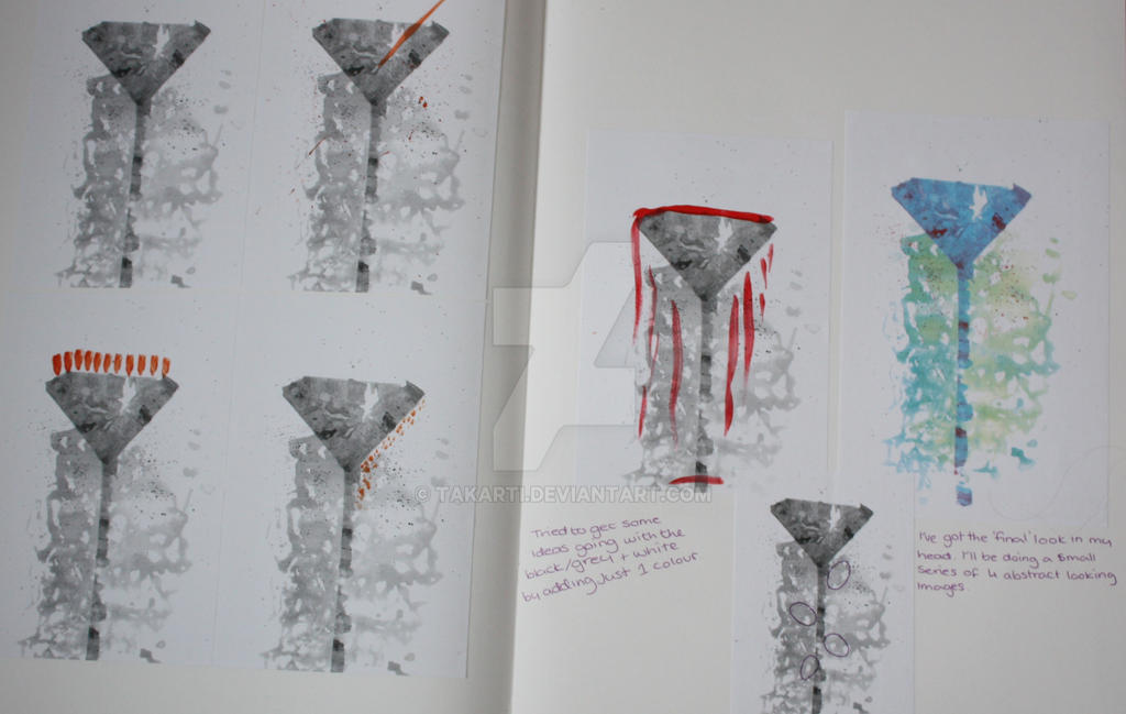 Developmental Drawing by Takarti