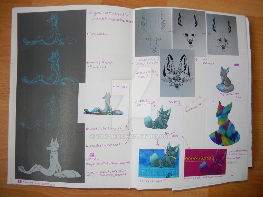 Sketchbook: 2 - Artist Book by Takarti