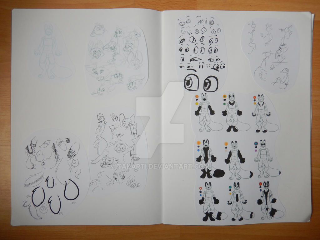 Sketchbook: 12 - Artist Book by Takarti