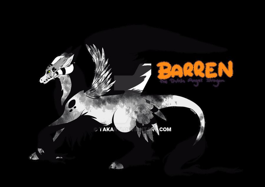 Barren the Dutch Angel Dragon by Takarti