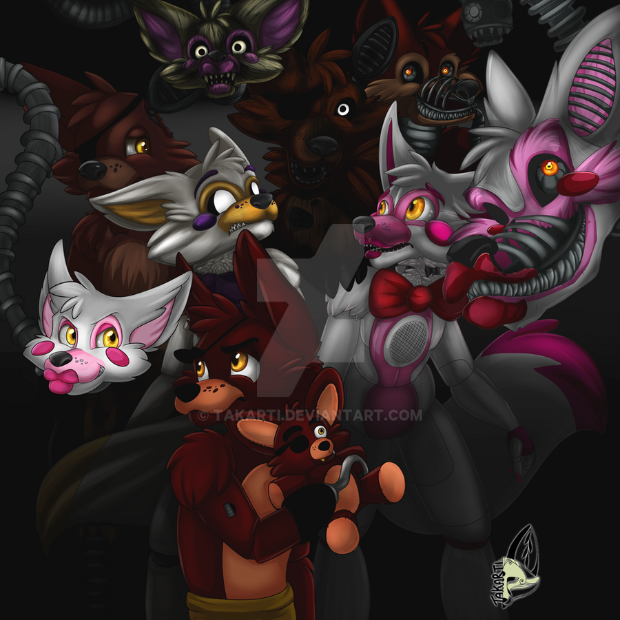 FNAF: All the Foxy by Takarti