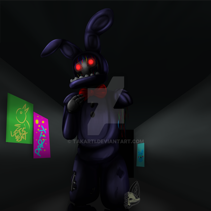Withered Bonnie by Takarti