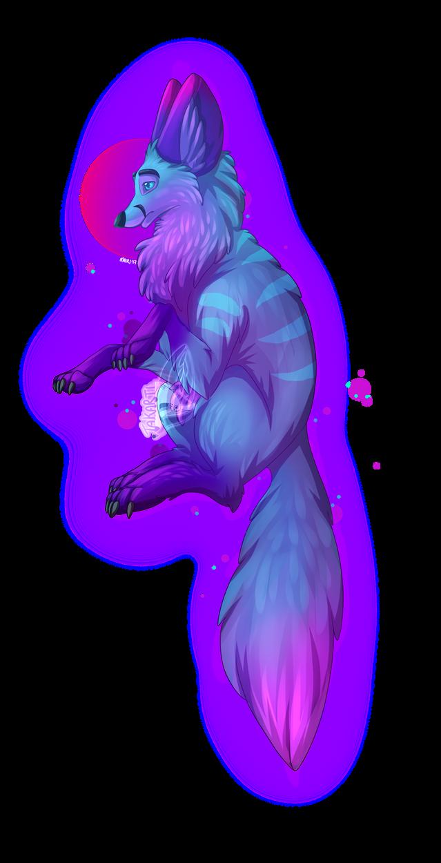 Fantasy Fox Creature Test by Takarti
