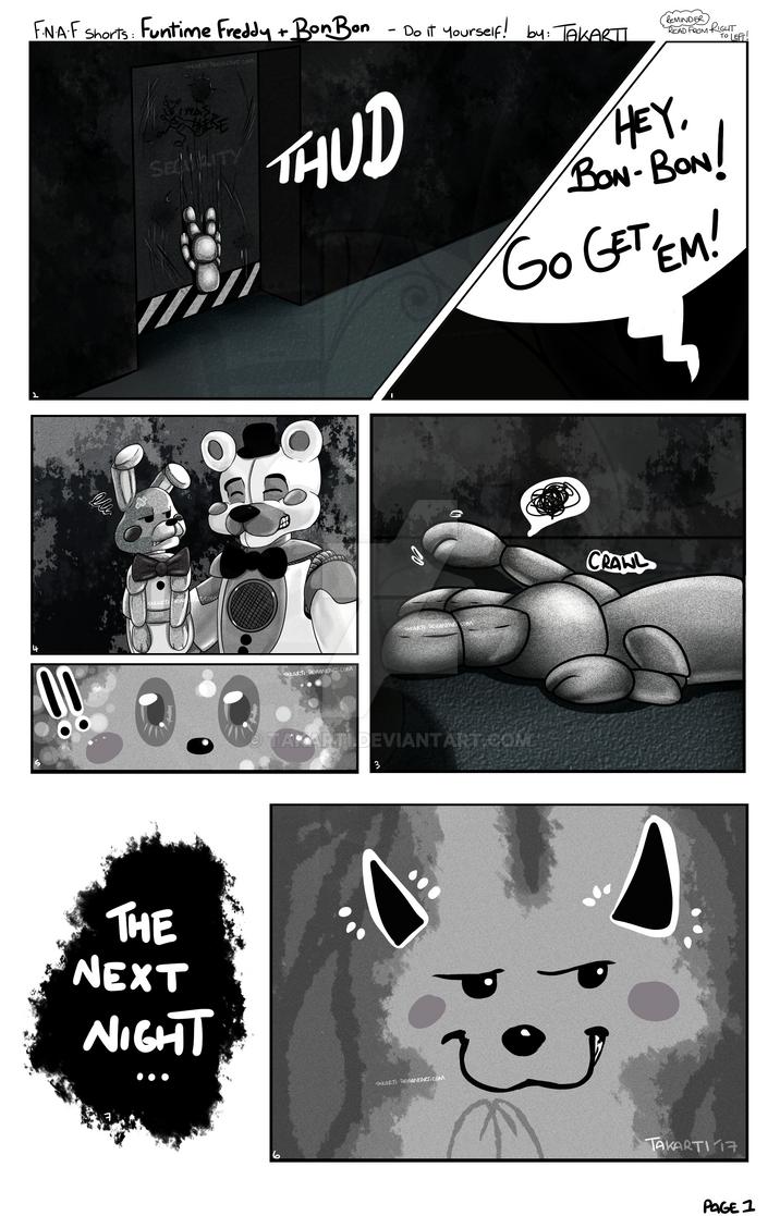 Fnaf Short - Ftfreddybonbon PAGE 1 by Takarti