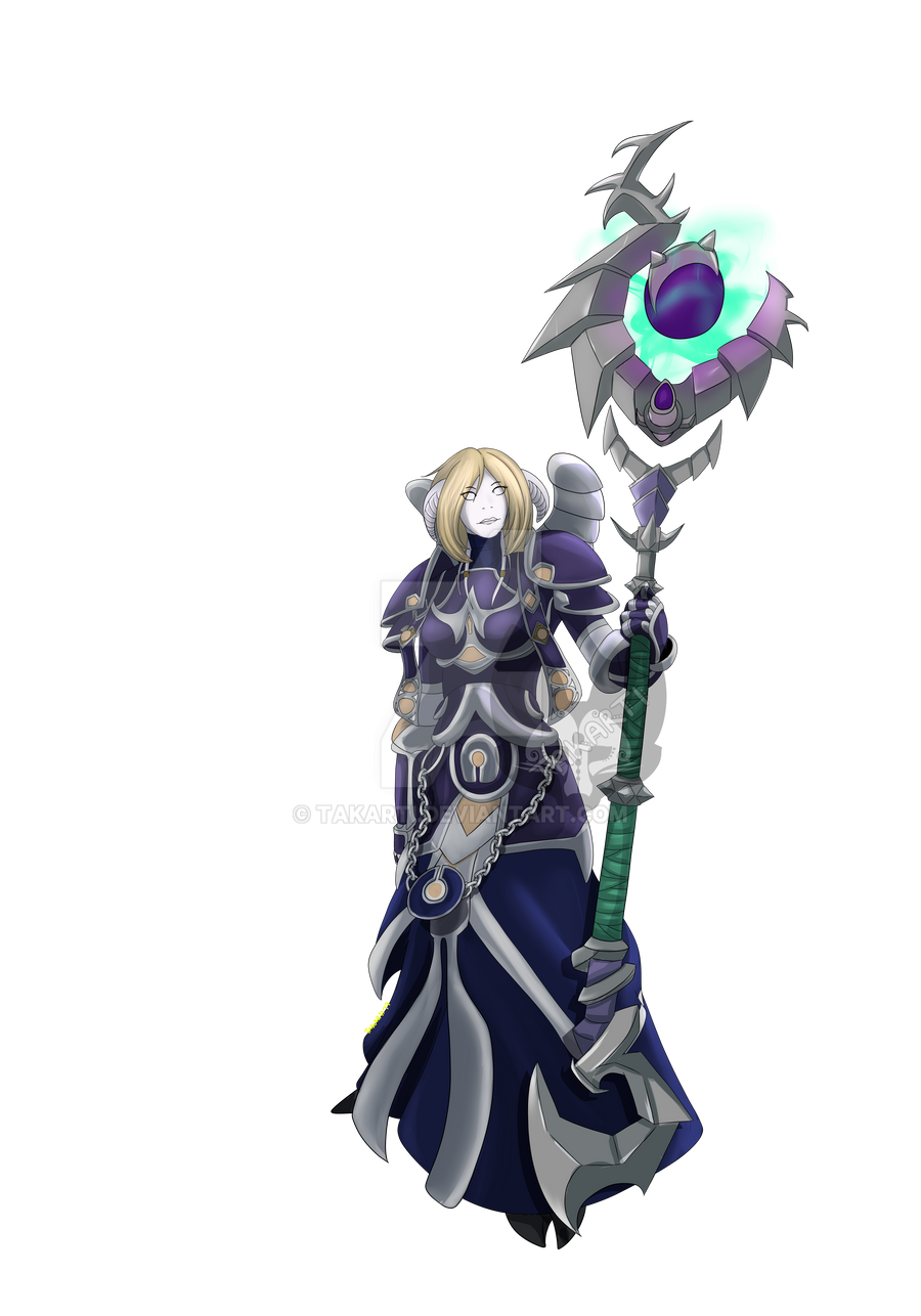 World of Warcraft: Draenei Priest by Takarti
