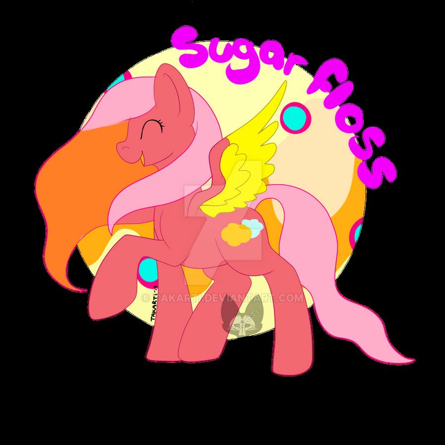 MLP - OC: Sugarfloss by Takarti