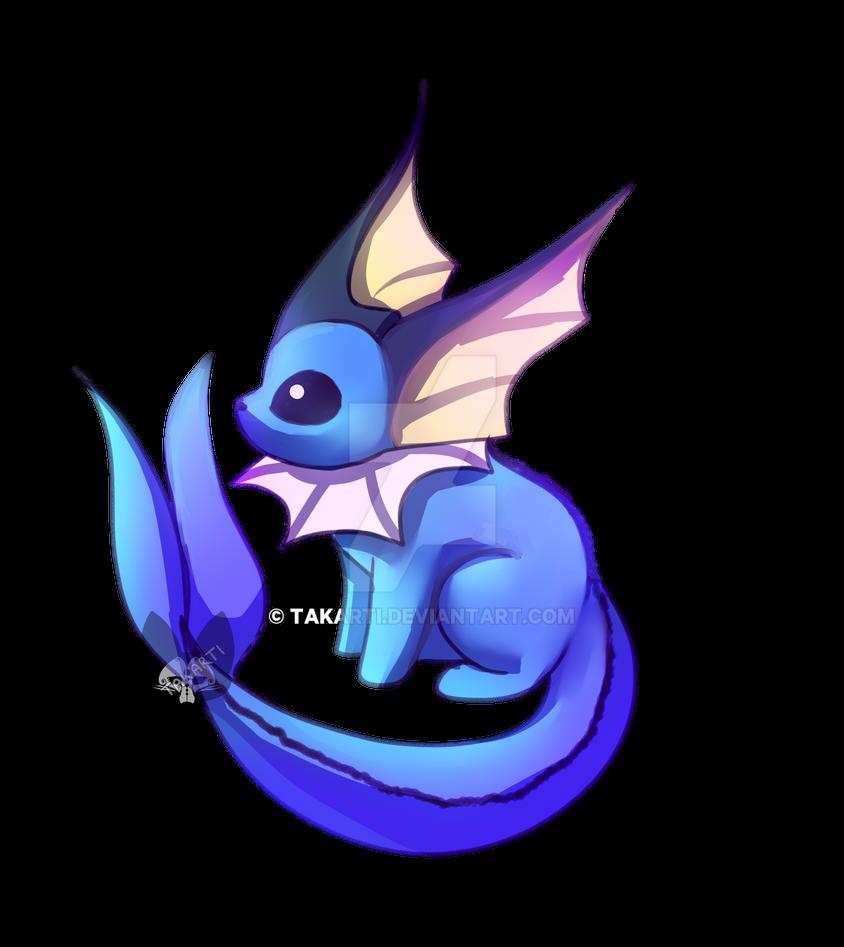 Pokemon: Vaporeon by Takarti