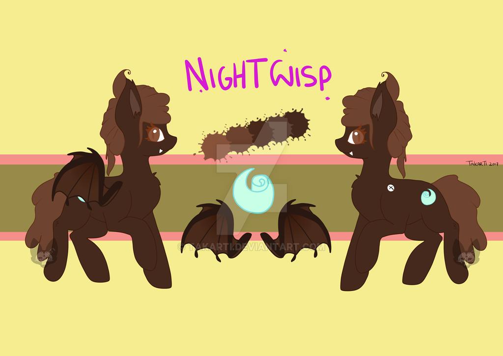 Nightwisp ref sheet by Takarti