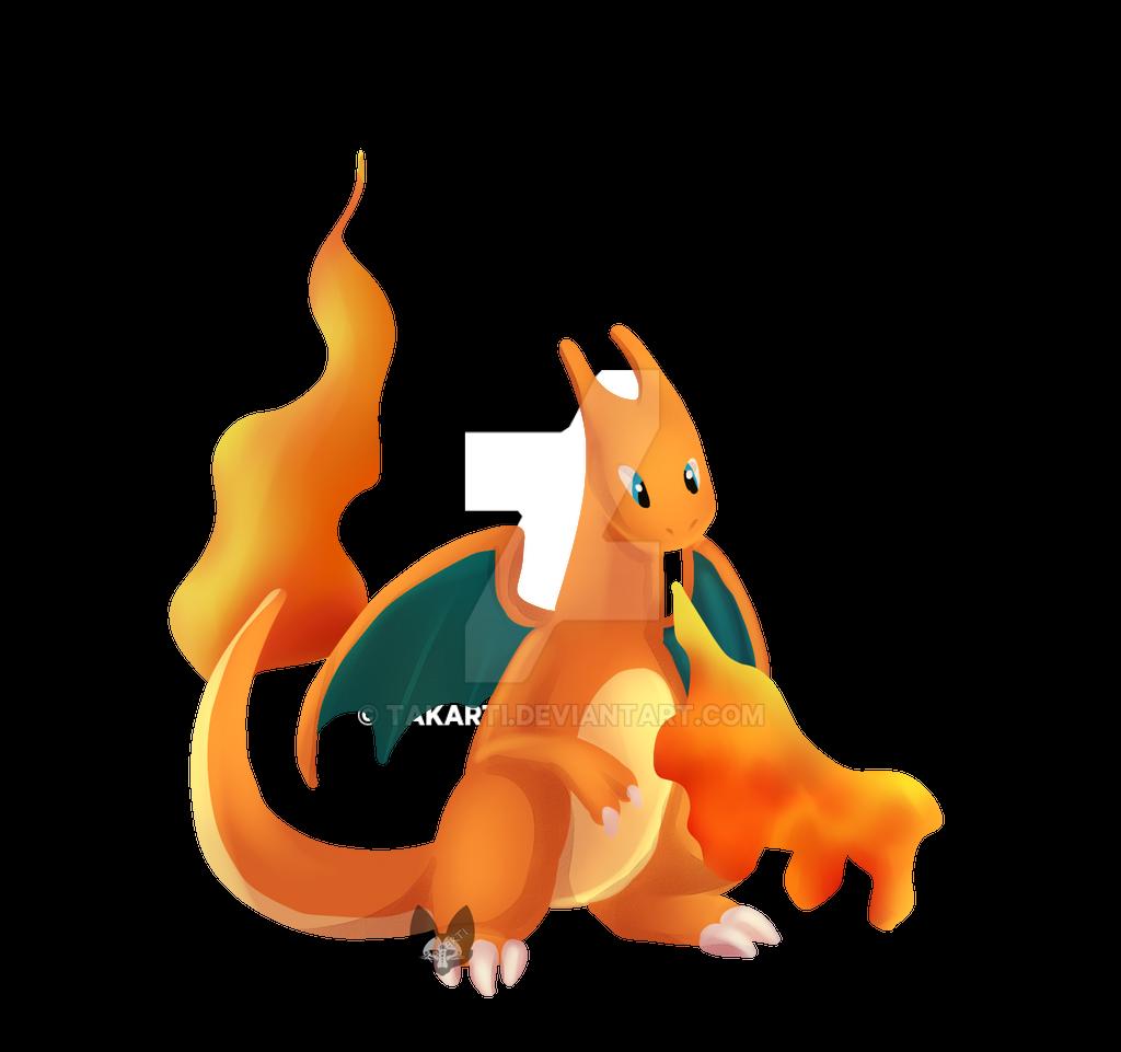 Pokemon: Charizard by Takarti