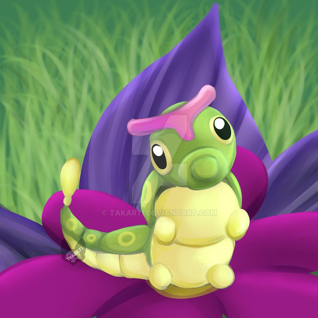 Pokemon: Caterpie by Takarti