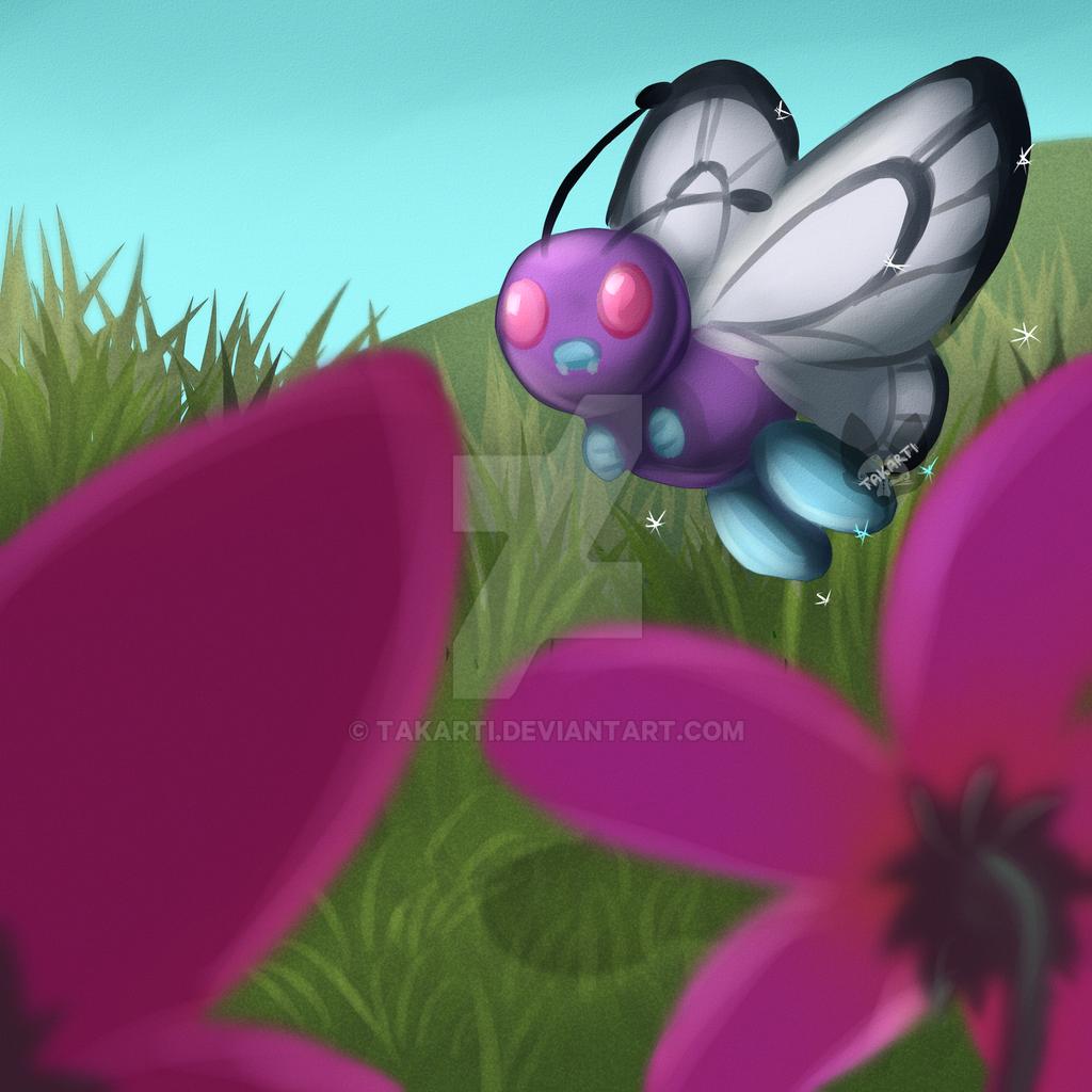 Pokemon: ButterFree by Takarti