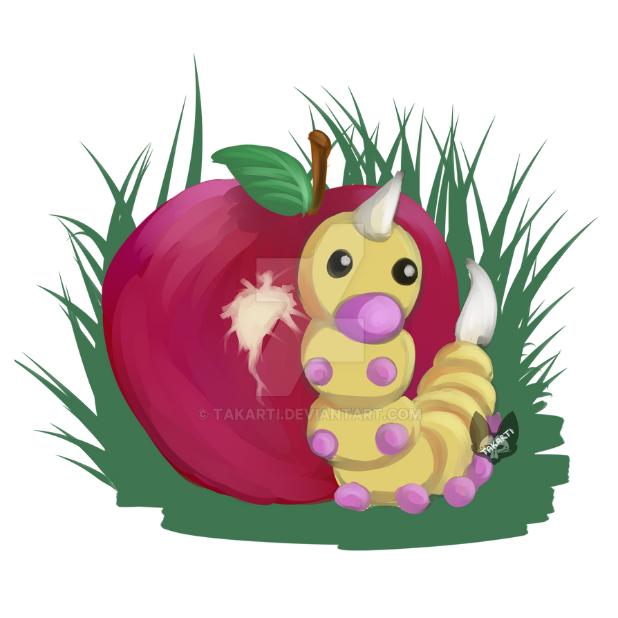 Pokemon: Weedle by Takarti