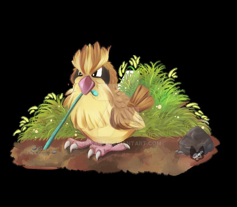 Pokemon: Pidgey by Takarti