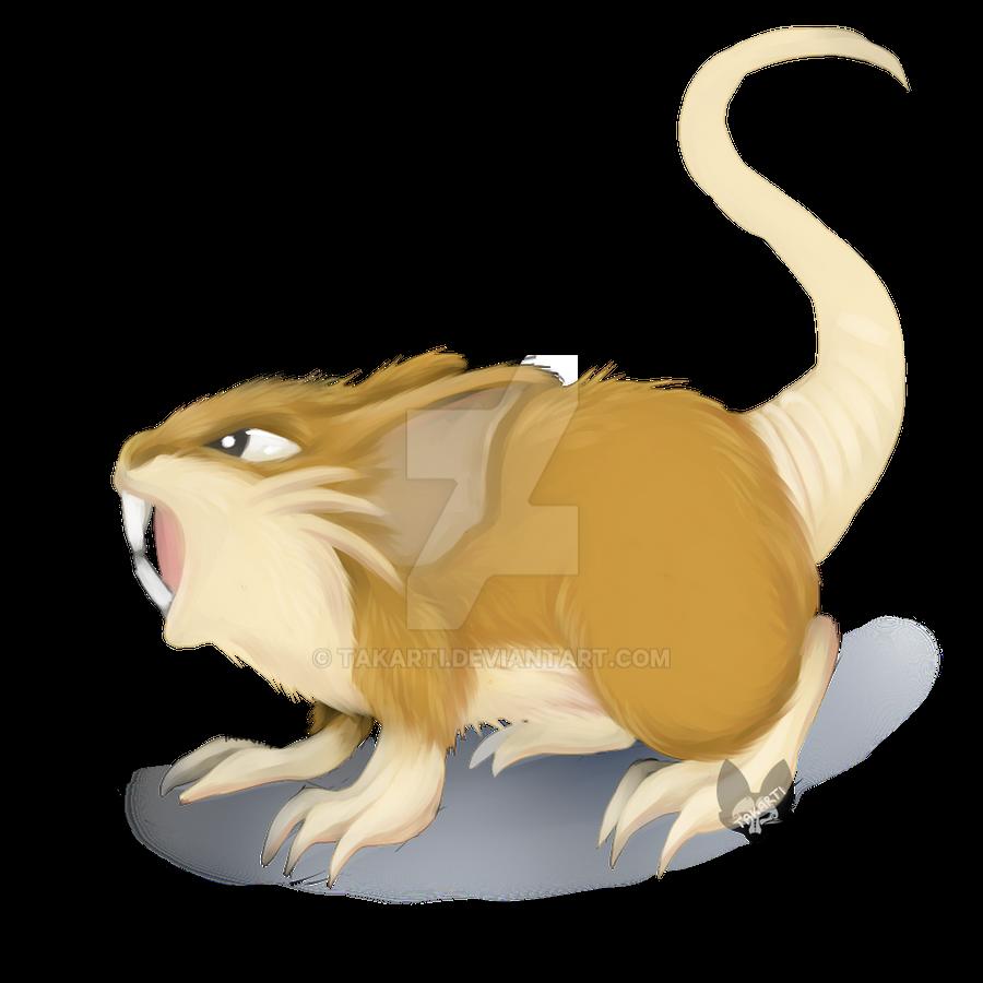 Pokemon: Raticate by Takarti