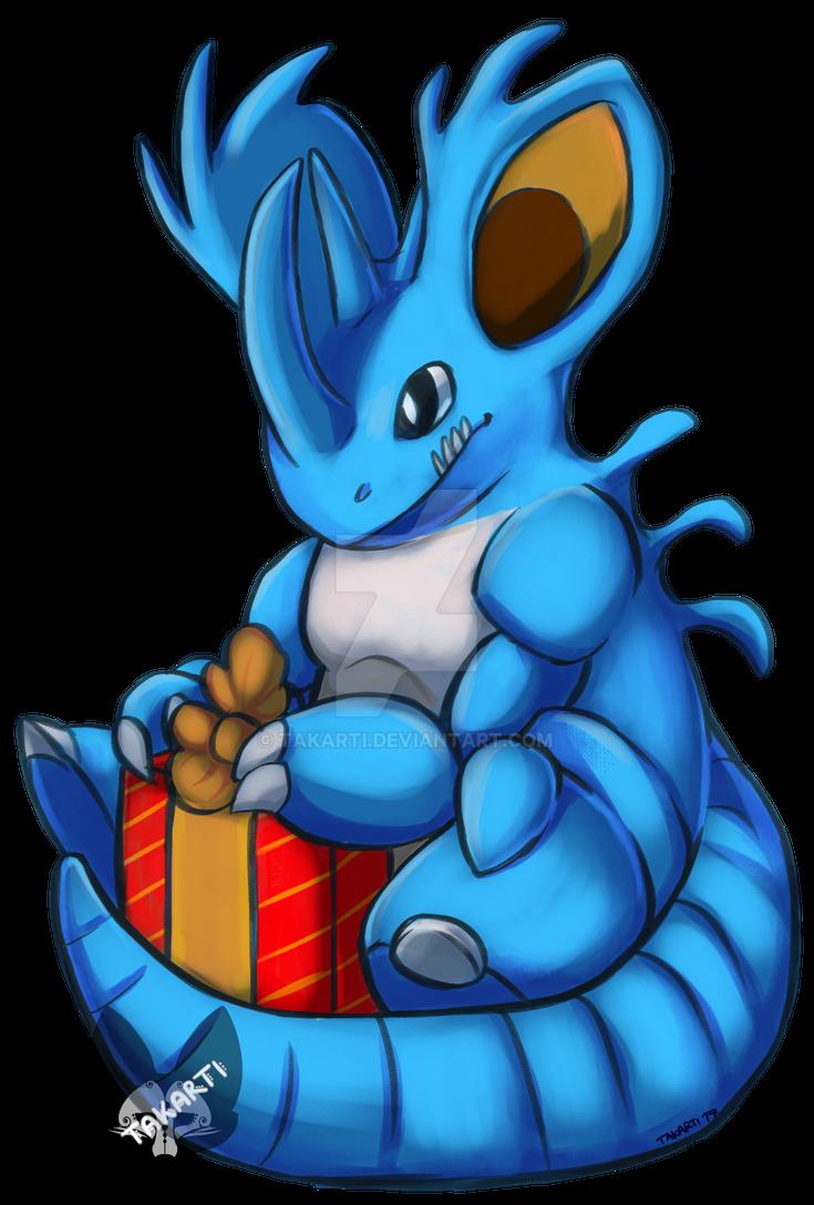 Pokemon: Shiny Nidoking by Takarti