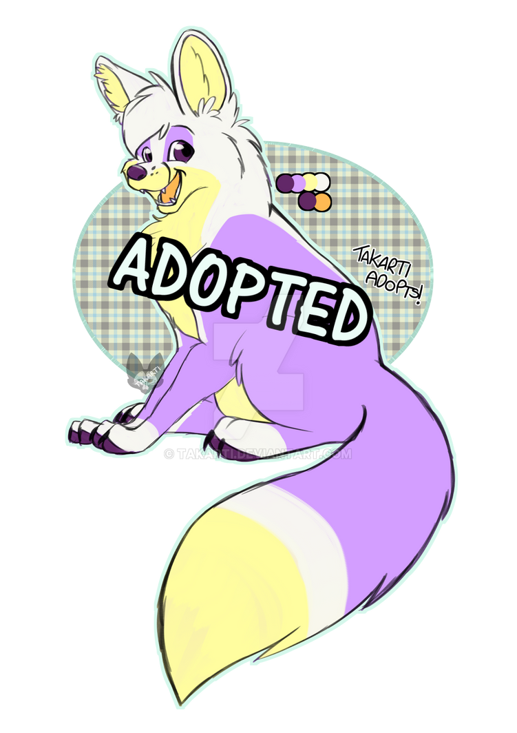 [CLOSED] Pastel Fox by Takarti