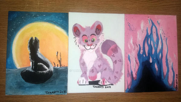 Paintings by Takarti