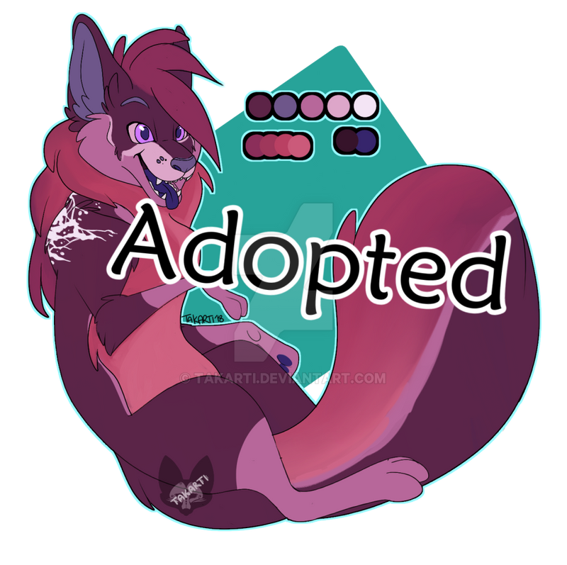 [CLOSED]  Fox Amino Adopt: Glaze Cake by Takarti